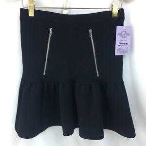 Sandro Knit stretch mini skirt size 1
